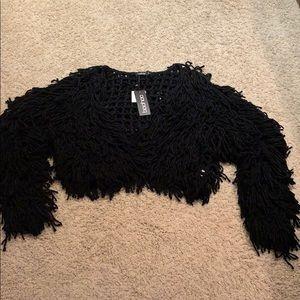 Black Boohoo Sweater